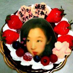 プリントデコレーションケーキ
