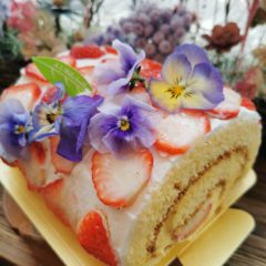 母の日ロールケーキ